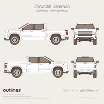 Chevrolet Silverado blueprint