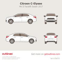 Citroen C-Elysee blueprint