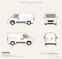 Citroen Jumper blueprint