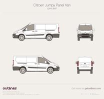 Citroen Jumpy blueprint