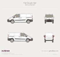 Fiat Scudo blueprint