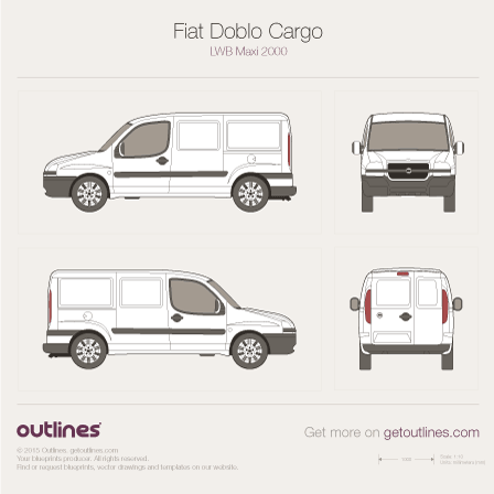 2001 fiat doblo blueprints outlines fiat doblo blueprints malvernweather Choice Image
