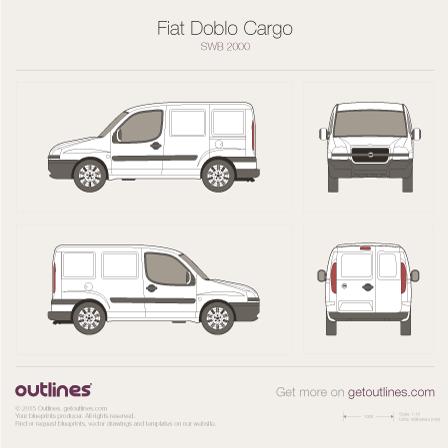 2001 Fiat Doblo Cargo Van blueprints and drawings