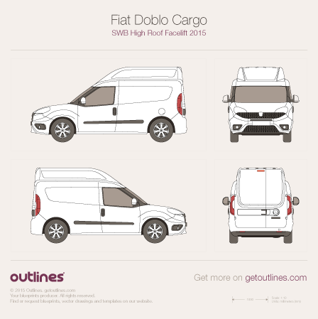 2015 fiat doblo blueprints outlines fiat doblo blueprints malvernweather