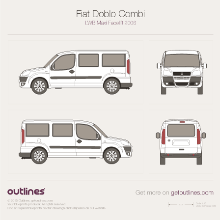 2005 fiat doblo blueprints outlines fiat doblo blueprints malvernweather Choice Image