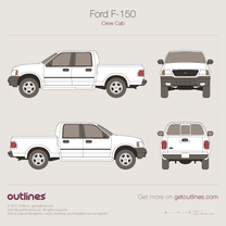 Ford F-150 blueprint
