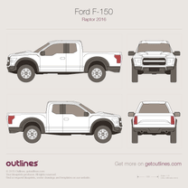 Ford F-150 blueprint