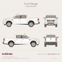 Ford Ranger blueprint