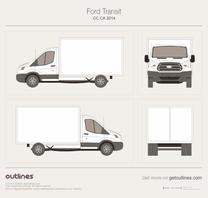 Ford Transit blueprint