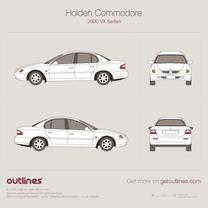 Holden Commodore blueprint