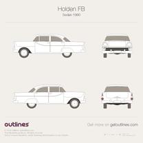 Holden FB blueprint