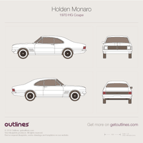 Holden Monaro blueprint