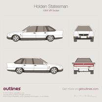 Holden Statesman blueprint