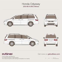 Honda Odyssey blueprint