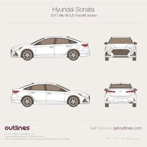 Hyundai Sonata blueprint