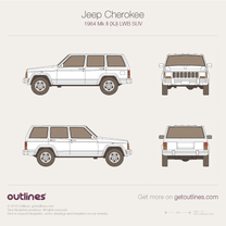 Jeep Cherokee blueprint