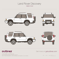 Land Rover Discovery blueprint