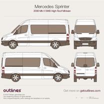 Mercedes-Benz Sprinter blueprint
