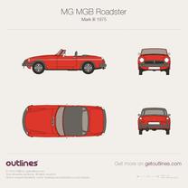 MG MGB blueprint