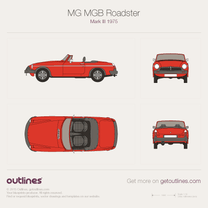 MG MGB blueprint