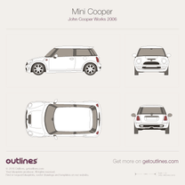 2006 Mini Cooper John-Cooper-Works Hatchback blueprint