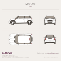 2001 Mini One Hatchback blueprint