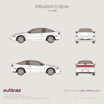 Mitsubishi Eclipse blueprint