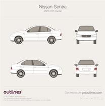 Nissan Sentra blueprint