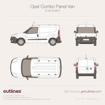 Vauxhall Combo blueprint