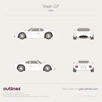 1964 Other Vixen GT Coupe blueprint