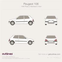 Peugeot 106 blueprint