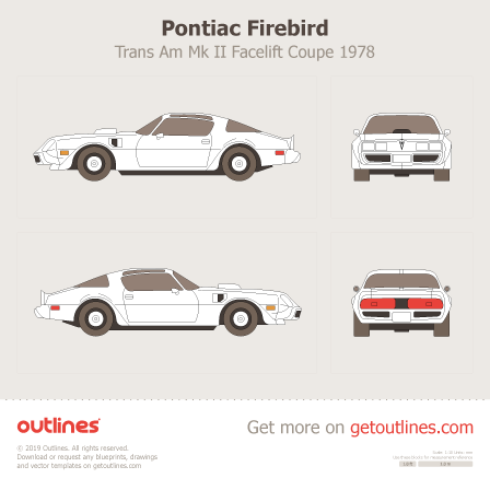 Pontiac Firebird blueprint