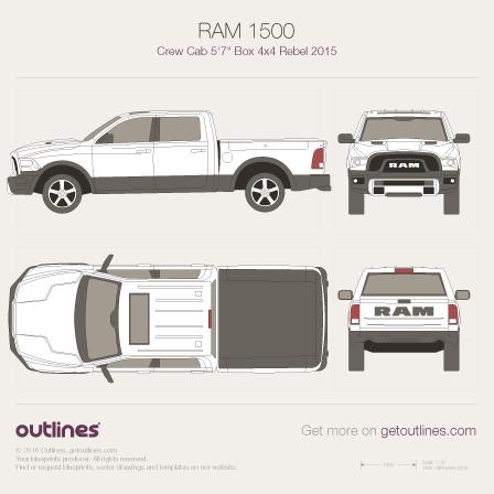 Ram 1500 blueprint