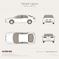 Renault Laguna blueprint
