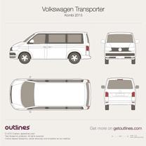 Volkswagen Transporter blueprint